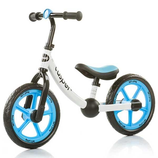 Bicicleta fara pedale Chipolino Casper blue [0]