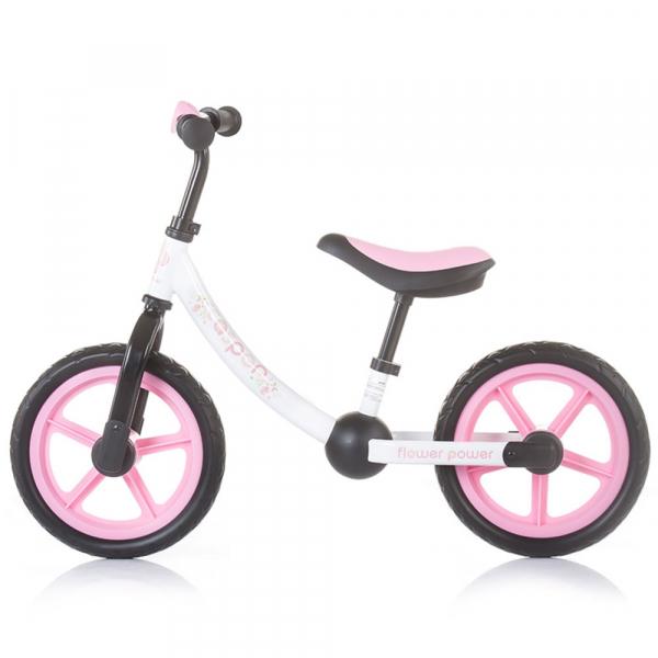 Bicicleta fara pedale Chipolino Casper flower power 1