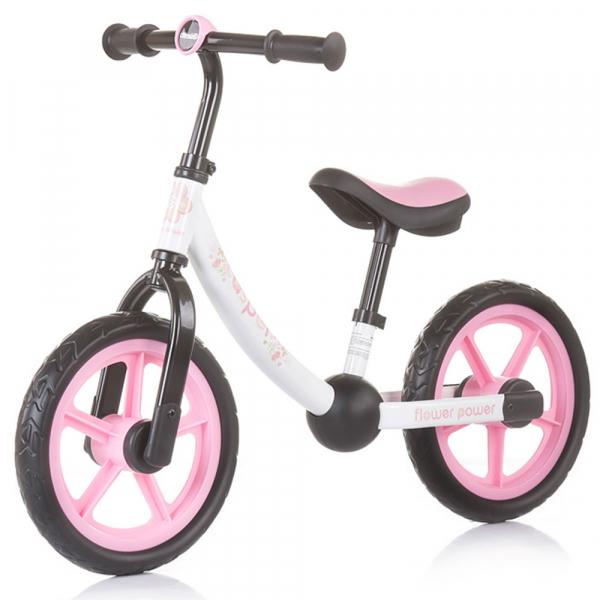 Bicicleta fara pedale Chipolino Casper flower power 0