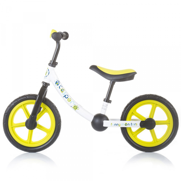 Bicicleta fara pedale Chipolino Casper funny monsters 1