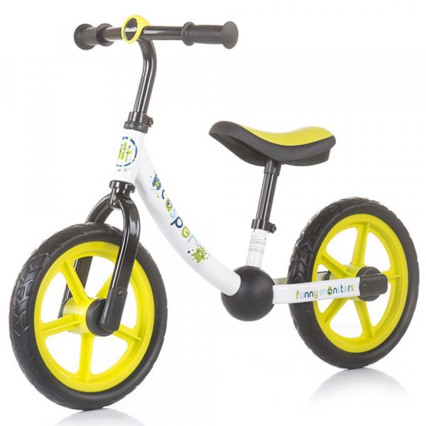 Bicicleta fara pedale Chipolino Casper funny monsters 0