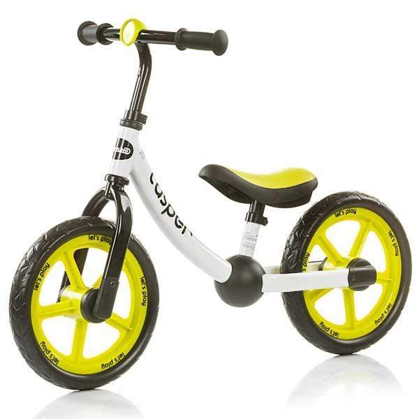 Bicicleta fara pedale Chipolino Casper green [4]