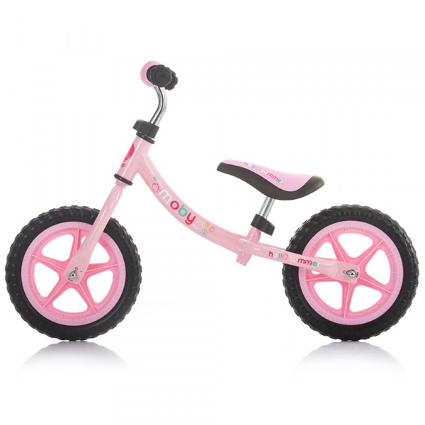 Bicicleta fara pedale Chipolino Moby pink [1]