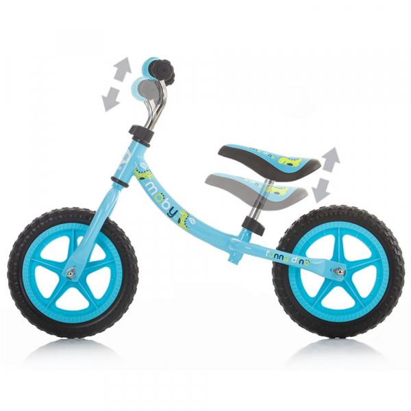 Bicicleta fara pedale Chipolino Moby pink [3]
