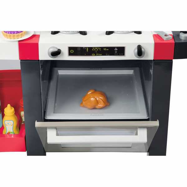 Bucatarie Smoby Tefal French Touch Bubble cu oala magica si accesorii 3