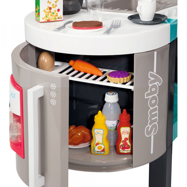 Bucatarie Smoby Tefal French Touch Bubble cu oala magica si accesorii 4