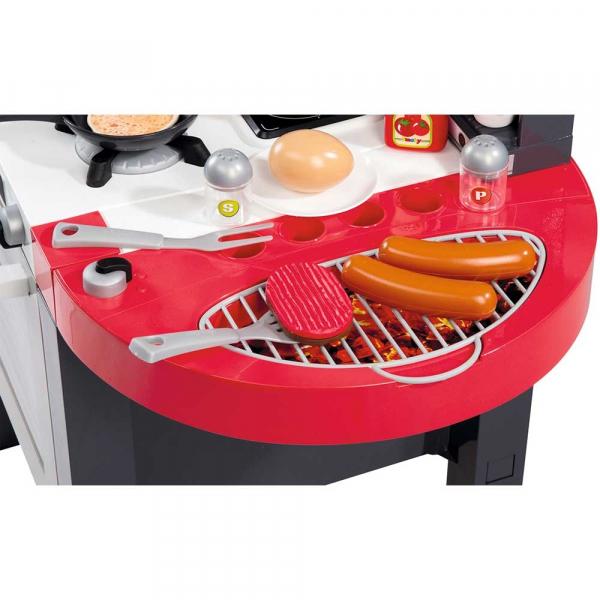 Bucatarie Smoby Tefal Super Chef Deluxe cu grill si aparat de cafea 6