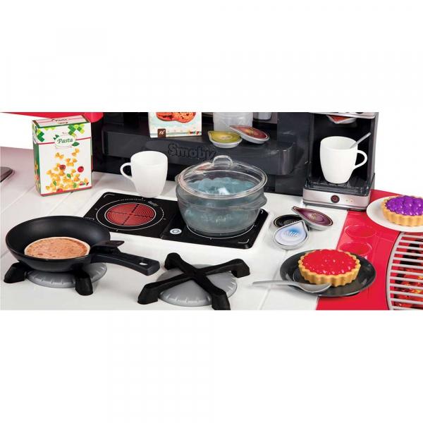 Bucatarie Smoby Tefal Super Chef Deluxe cu grill si aparat de cafea 5