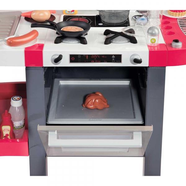 Bucatarie Smoby Tefal Super Chef Deluxe cu grill si aparat de cafea 2