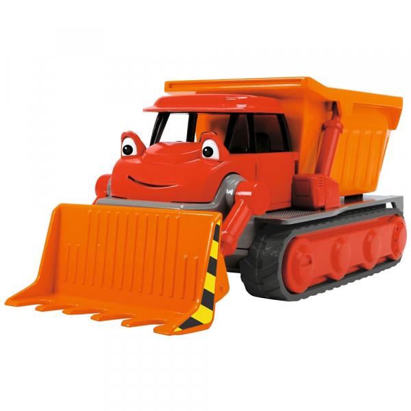 Buldozer Dickie Toys Bob Constructorul Action Team Muck cu 1 figurina Leo [2]