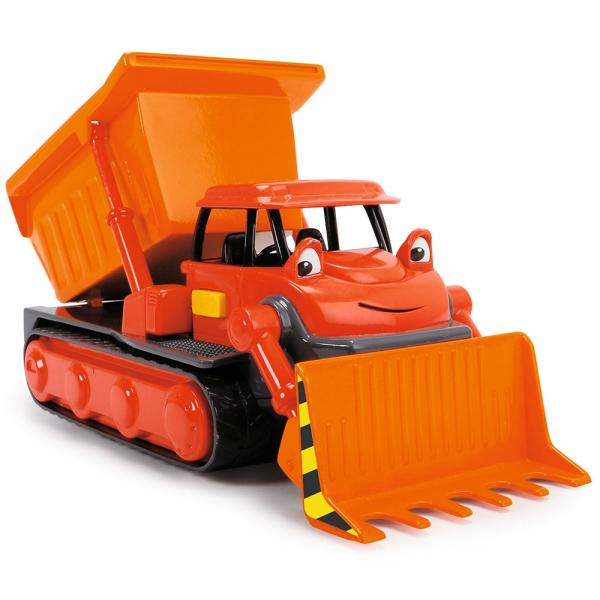 Buldozer Dickie Toys Bob Constructorul Action Team Muck cu 1 figurina Leo [1]