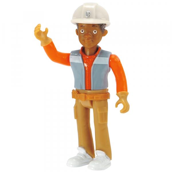 Buldozer Dickie Toys Bob Constructorul Action Team Muck cu 1 figurina Leo [4]