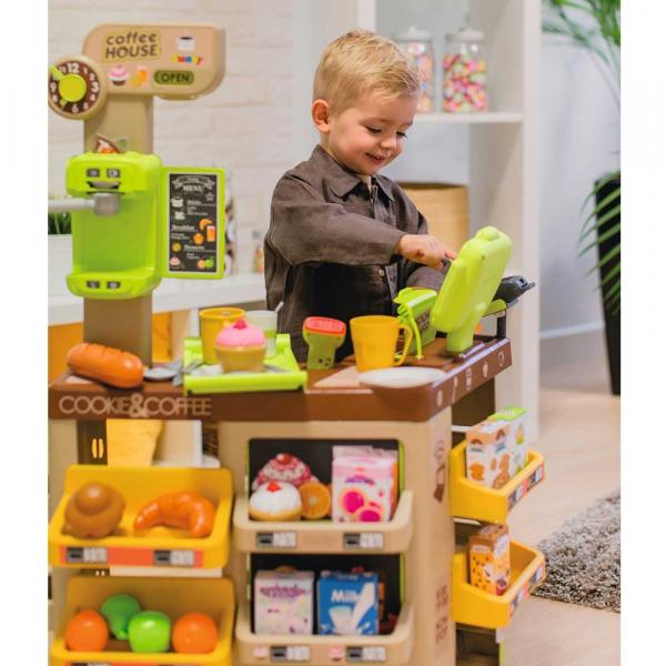 Cafenea pentru copii Smoby cu accesorii 8