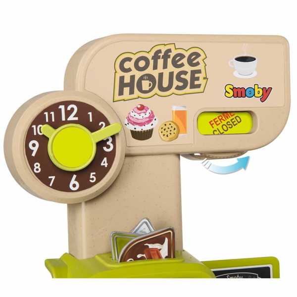 Cafenea pentru copii Smoby cu accesorii 5