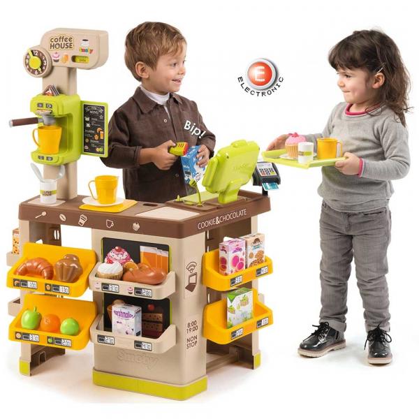 Cafenea pentru copii Smoby cu accesorii 6