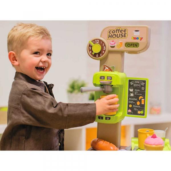 Cafenea pentru copii Smoby cu accesorii 7