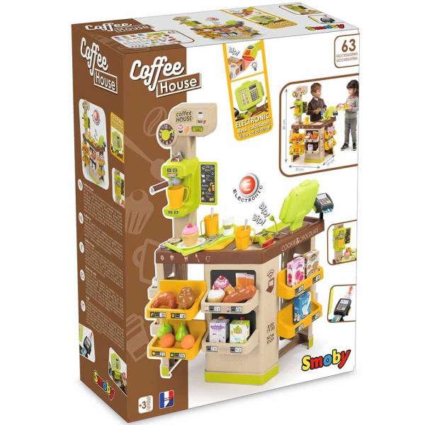 Cafenea pentru copii Smoby cu accesorii 13