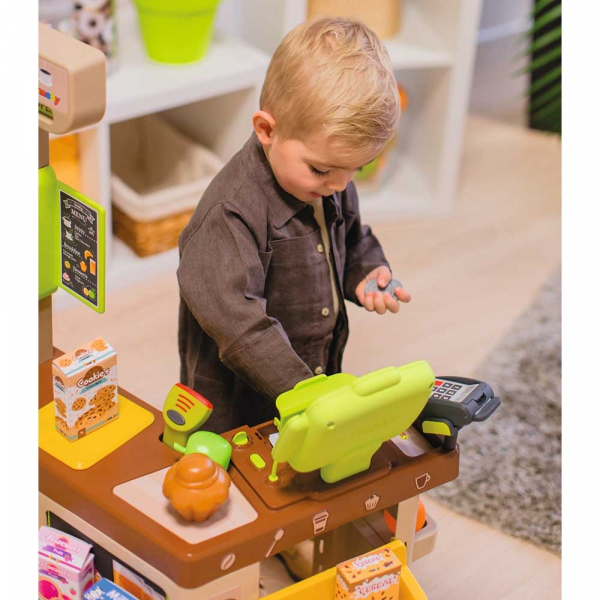 Cafenea pentru copii Smoby cu accesorii 11