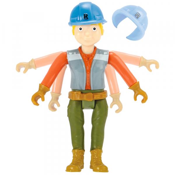 Camion Dickie Toys Bob Constructorul Action Team Lofty cu 1 figurina Wendy [6]