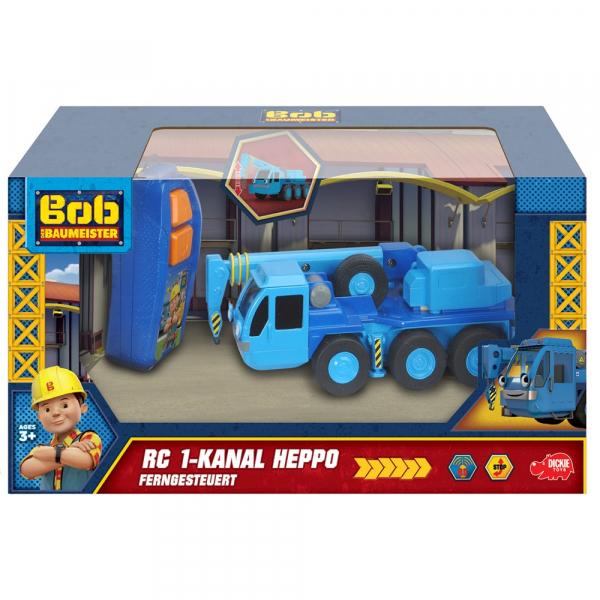 Camion Dickie Toys Bob Constructorul Lofty cu telecomanda 4