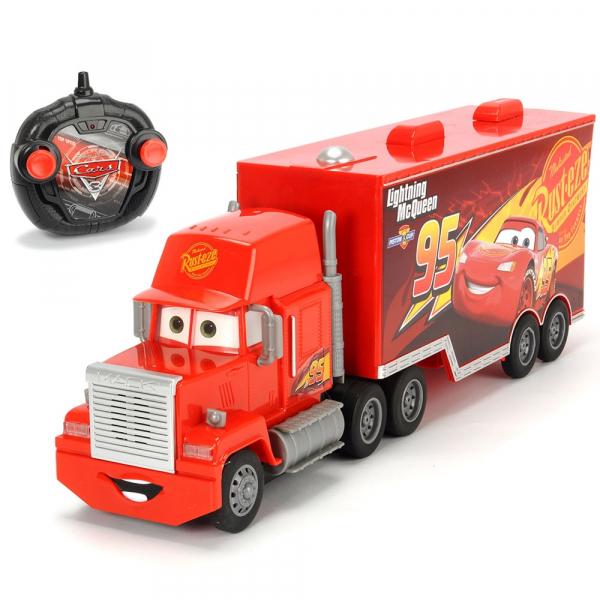 Camion Dickie Toys Cars 3 Turbo Truck Mack cu telecomanda [0]
