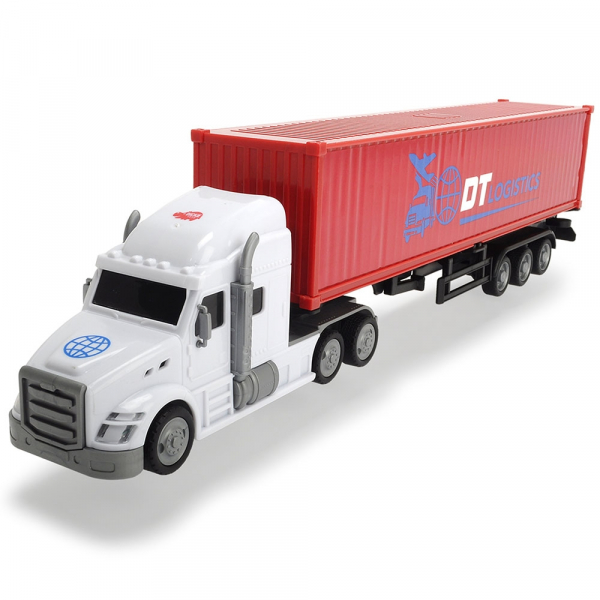 Camion Dickie Toys Road Truck DT Logistics 0