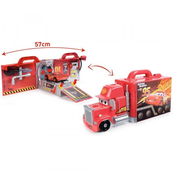 Camion pliabil Smoby Cars Mack 3