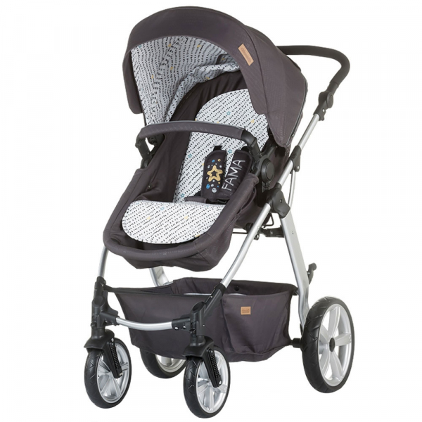 Carucior Chipolino Fama 2 in 1 granite grey 0