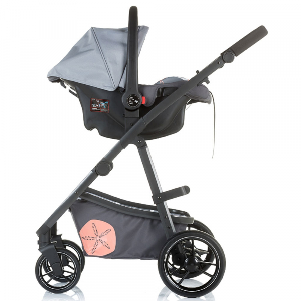 Carucior Chipolino Milo 3 in 1 ash 9