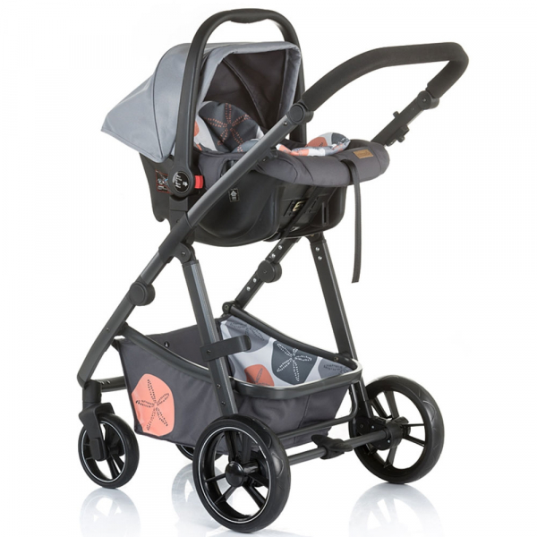 Carucior Chipolino Milo 3 in 1 ash 3