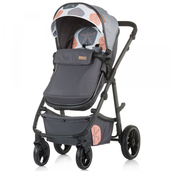 Carucior Chipolino Milo 3 in 1 ash 1