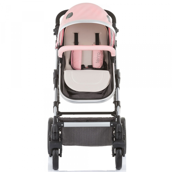 Carucior Chipolino Terra 3 in 1 rose pink 8