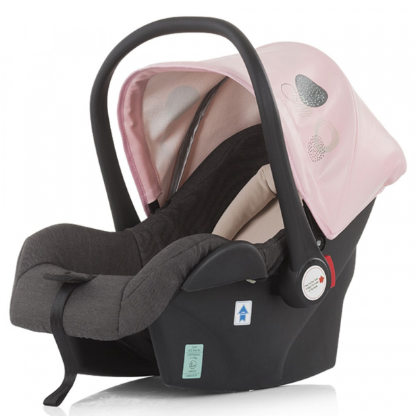 Carucior Chipolino Terra 3 in 1 rose pink 11