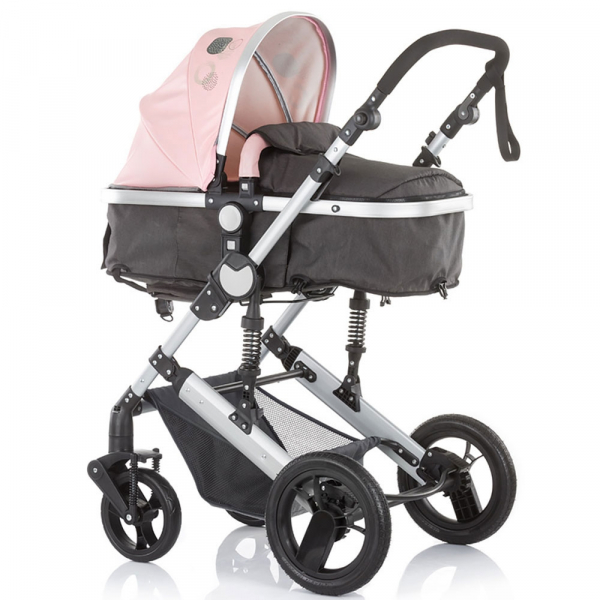 Carucior Chipolino Terra 3 in 1 rose pink 2