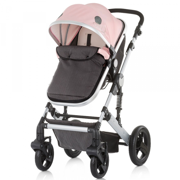 Carucior Chipolino Terra 3 in 1 rose pink 7