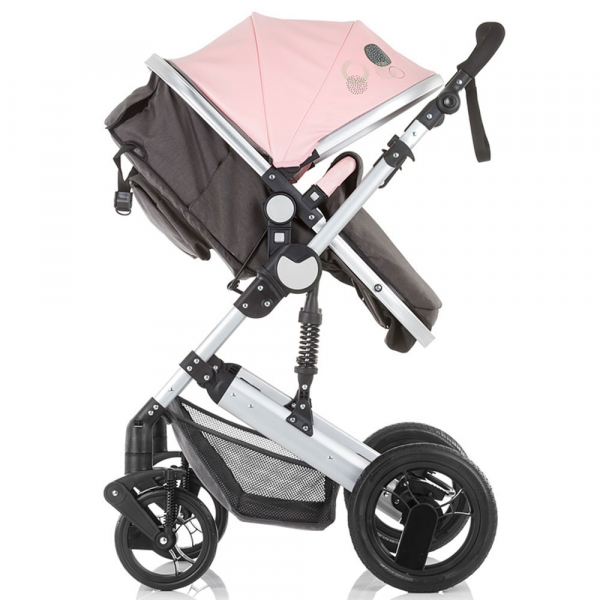Carucior Chipolino Terra 3 in 1 rose pink 5