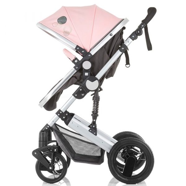 Carucior Chipolino Terra 3 in 1 rose pink 4
