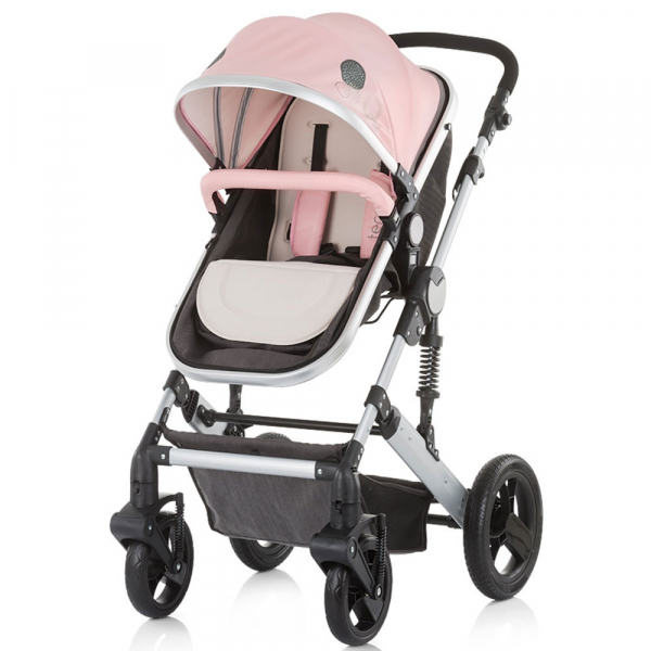 Carucior Chipolino Terra 3 in 1 rose pink 1