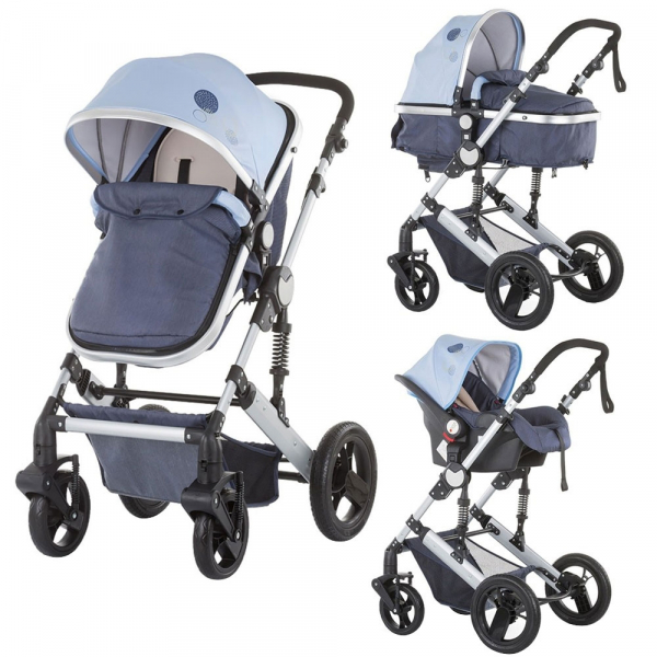 Carucior Chipolino Terra 3 in 1 sky blue 0