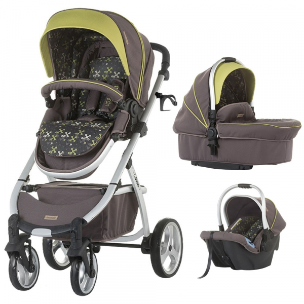 Carucior Chipolino Up & Down 3 in 1 truffle 0