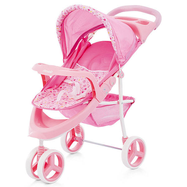 Carucior pentru papusi Chipolino Trixi pink [1]