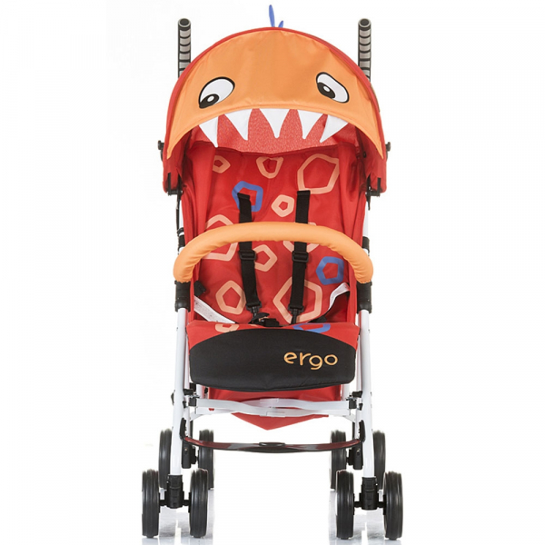 Carucior sport Chipolino Ergo red baby dragon 3