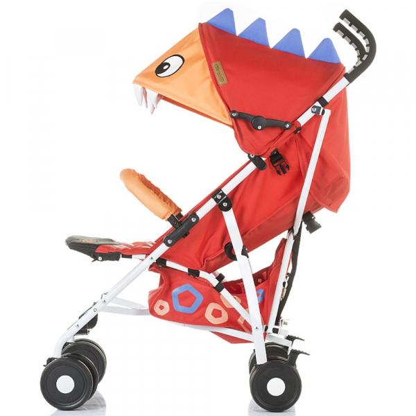 Carucior sport Chipolino Ergo red baby dragon 2