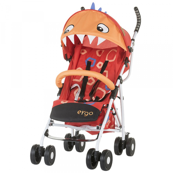 Carucior sport Chipolino Ergo red baby dragon 0