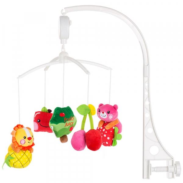 Carusel muzical pentru patut Chipolino Fruity-Juicy 0
