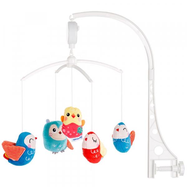 Carusel muzical pentru patut Chipolino Lovely Owls 0