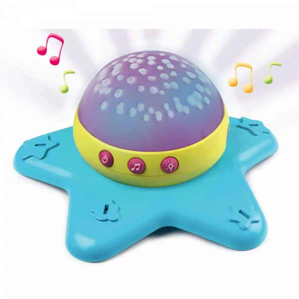 Carusel muzical Smoby Cotoons Star 2 in 1 4