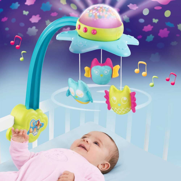 Carusel muzical Smoby Cotoons Star 2 in 1 5