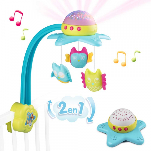 Carusel muzical Smoby Cotoons Star 2 in 1 [0]