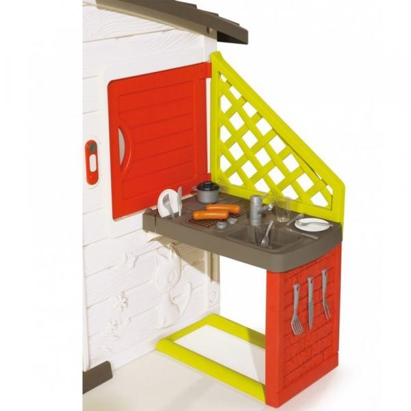 Casuta pentru copii Smoby Friends Playhouse cu bucatarie 2